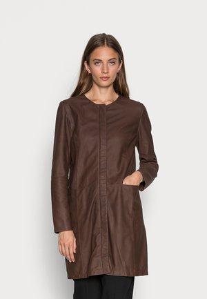 JACKET - Klasický kabát - brownie