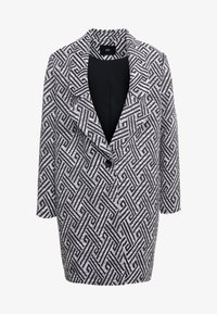 Steffen Schraut - SUMMER JACQUARD COAT - Short coat - black/white - 5