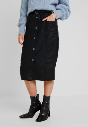 PCKATIA MEDI SKIRT - Pencil skirt - black