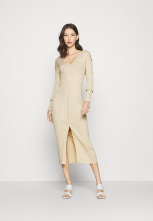 ALIA  - Pletené šaty - light beige