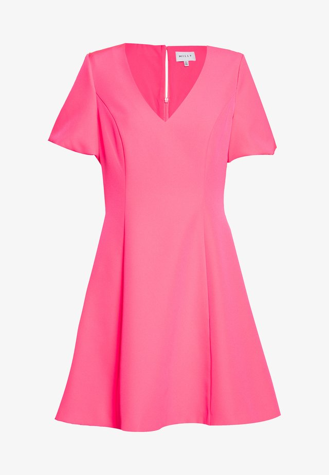 CADY AMELIA DRESS - Vestito estivo - neon pink