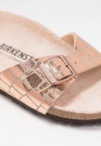 Birkenstock - MADRID - Chaussons - gator gleam copper - 2