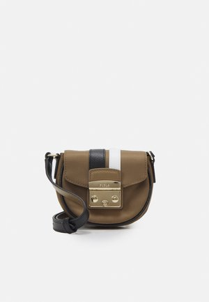 METROPOLIS MICRO BAG - Across body bag - fango/nero/talco