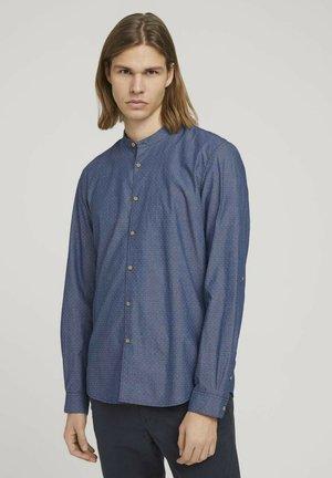 Shirt - denim look dobby