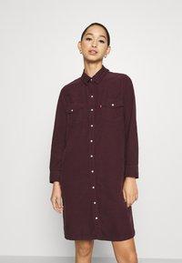 Levi's® - SELMA DRESS - Shirt dress - malbec - 0