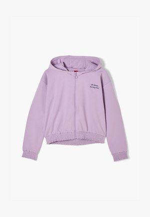 Zip-up hoodie - violet