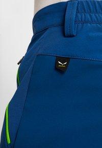 Salewa - PUEZ ORVAL - Outdoorové kalhoty - poseidon - 3
