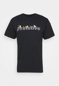 GAMMA TEE - Print T-shirt - black