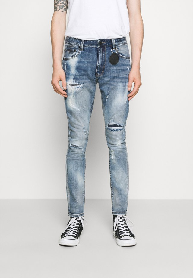 CALGARI CARROT FIT  - Jeans Tapered Fit - light blue