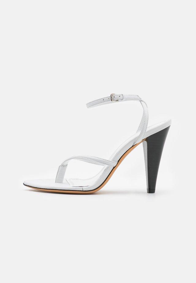 ANOUK - Sandalen met hoge hak - white