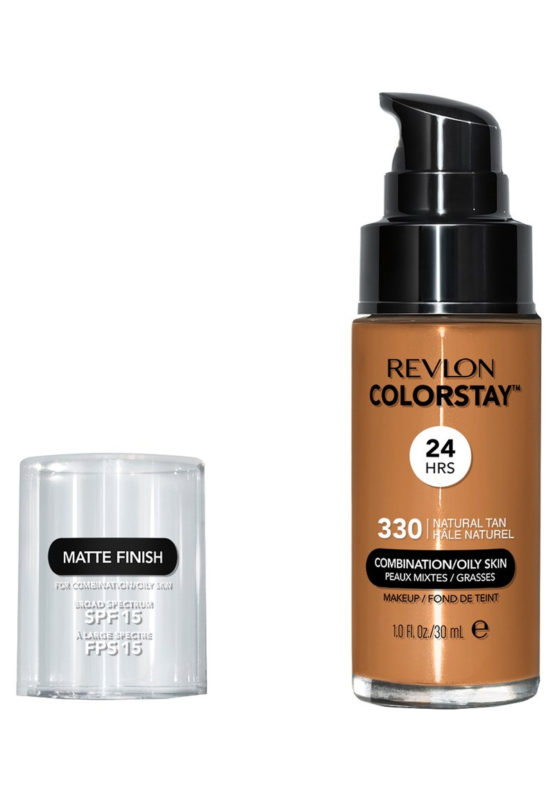 Revlon - COLORSTAY MAKE-UP FOUNDATION FOR OILY/COMBINATION SKIN - Foundation - N°330 natural tan
