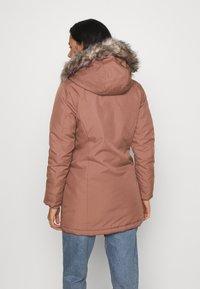 ONLY - KATY - Abrigo de invierno - burlwood - 2