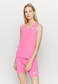 Nike Performance - CITY SLEEK  - Camiseta de deporte - pink glow - 0