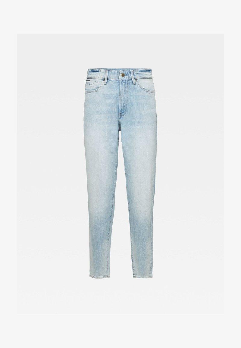 G-Star - JANEH ULTRA HIGH MOM ANKLE WMN - Slim fit jeans - vintage glacial blue