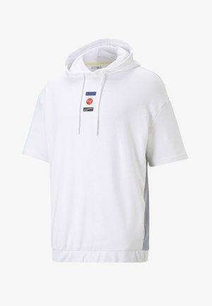DECOR8  - Sweat à capuche - puma white