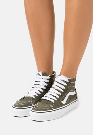 SK8 TAPERED - Baskets montantes - grape leaf/true white