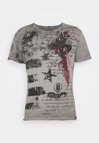 Key Largo - INDICATE ROUND - T-shirt con stampa - anthracite - 3