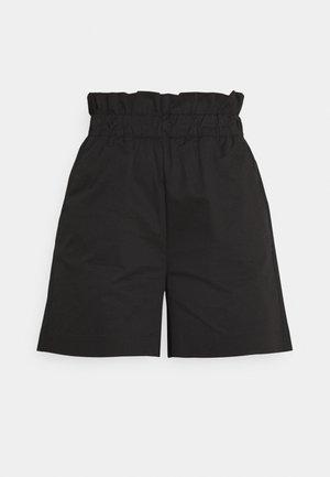 PAPERBAG WAIST PULL ON  - Shorts - black
