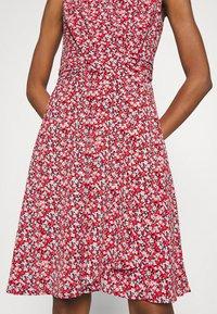 Lauren Ralph Lauren - ELNA SLEEVELESS DAY DRESS - Day dress - lighthouse navy/red/cream - 4