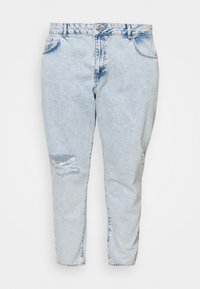 Noisy May Curve - NMISABEL MOM - Relaxed fit jeans - light blue denim - 0