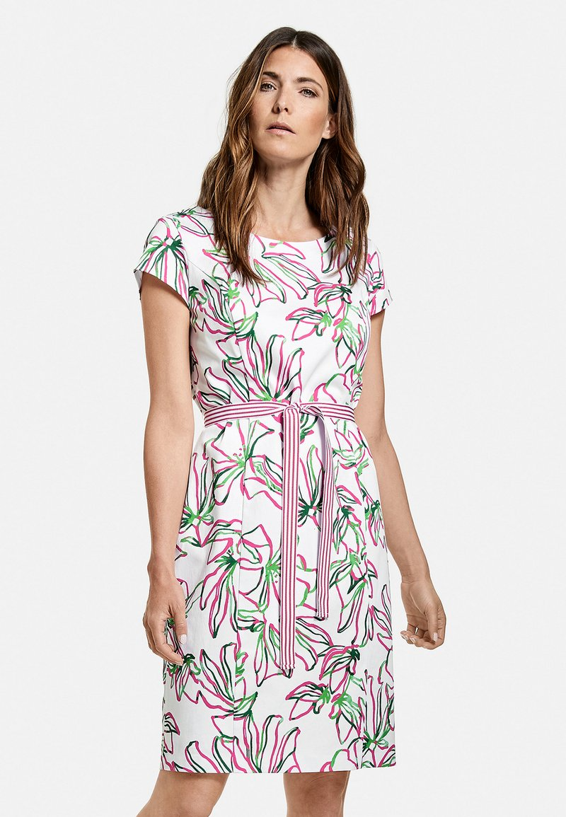 Gerry Weber - Day dress - weiß azalea palm druck