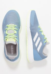 adidas Performance - SOORAJ VERUM CLOUDFOAM RUNNING SHOES - Juoksukenkä/neutraalit - glow blue/footwear white/light granit - 1
