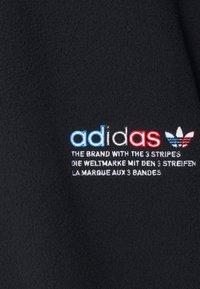 adidas Originals - TRICOL UNISEX - Fleecepaita - black - 2