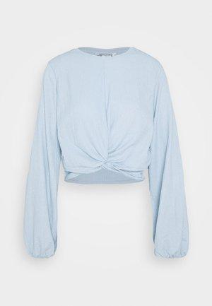 SIRI - Blusa - solid blue as sketch