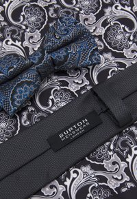 Burton Menswear London - SET - Tie - dark grey - 4