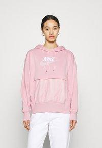 Nike Sportswear - AIR HOODIE - Hoodie - pink glaze/white - 0