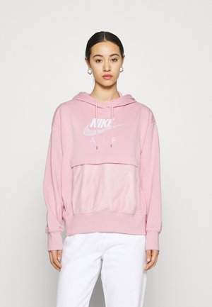 AIR HOODIE - Jersey con capucha - pink glaze/white