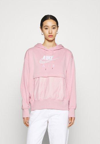 AIR HOODIE - Hoodie - pink glaze/white