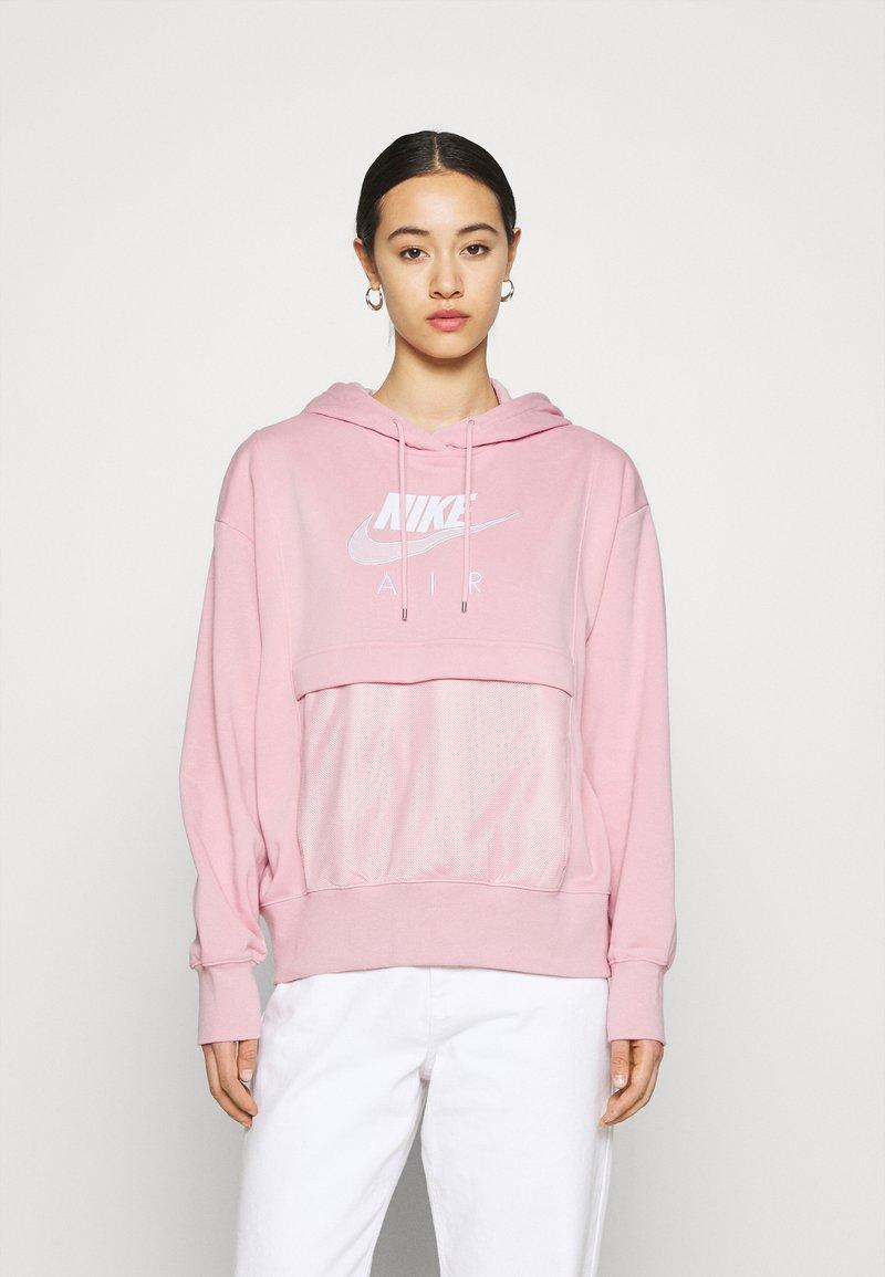 Nike Sportswear - AIR HOODIE - Hoodie - pink glaze/white