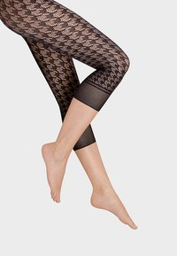 Wolford - DYLAN CAPRI - Leggings - Stockings - black - 0