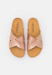 Office - SOHO - Sandaler - rose gold - 5