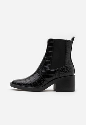 ONLBLUSH STRUCTUR BOOT  - Classic ankle boots - black