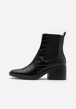 ONLBLUSH STRUCTUR BOOT  - Kotníkové boty - black
