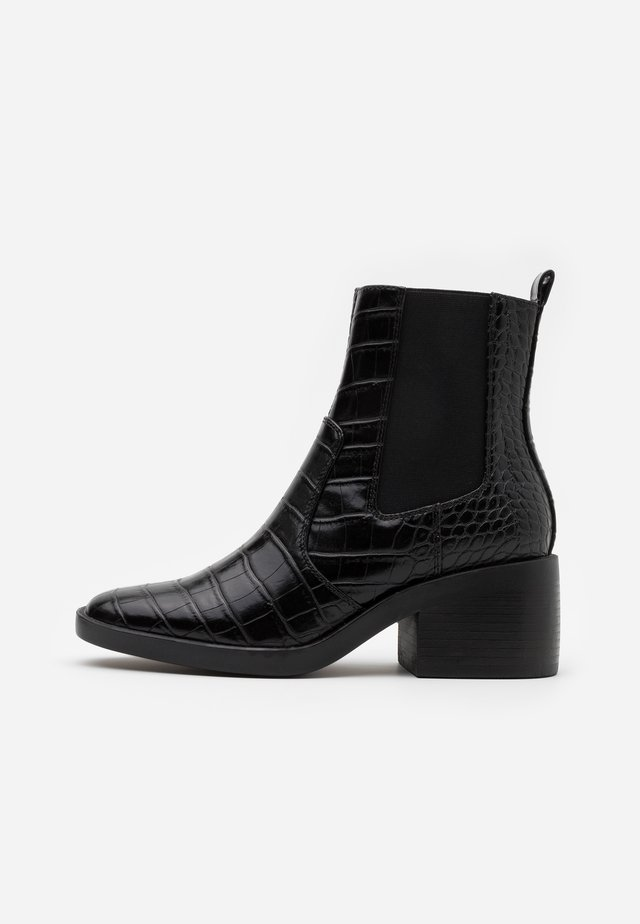 ONLBLUSH STRUCTUR BOOT  - Bottines - black