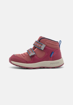 LUJA UNISEX - Hiking shoes - rose/beet red