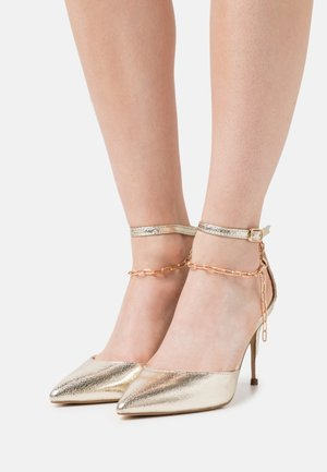 LIONESS - Classic heels - gold