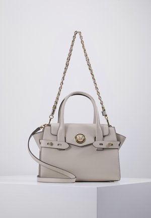 FLAP SATCHEL - Kabelka - light sand