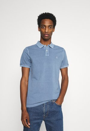 SHORT SLEEVE BUTTON PLACKET - Polo shirt - kashmir blue