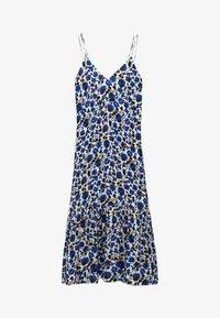 Massimo Dutti - MIT BLUMENPRINT  - Maxi dress - blue - 3