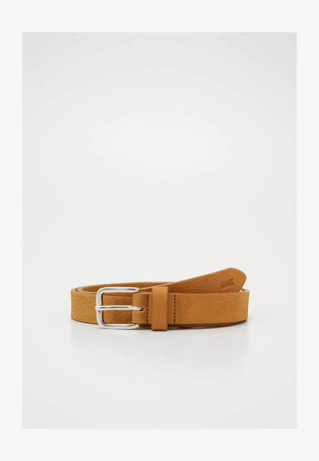 BELT BUCKLE - Pásek - butterscotch