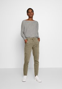 Cream - ROSITA - Trousers - khaki - 1
