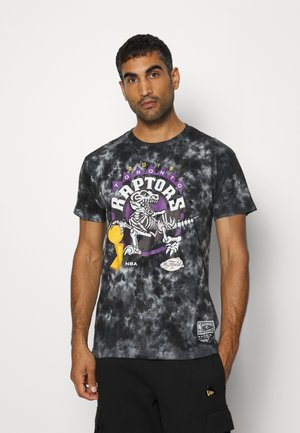 NBA TORONTO RAPTORS CHAMPIONS TIE DYE TEE - Squadra - black