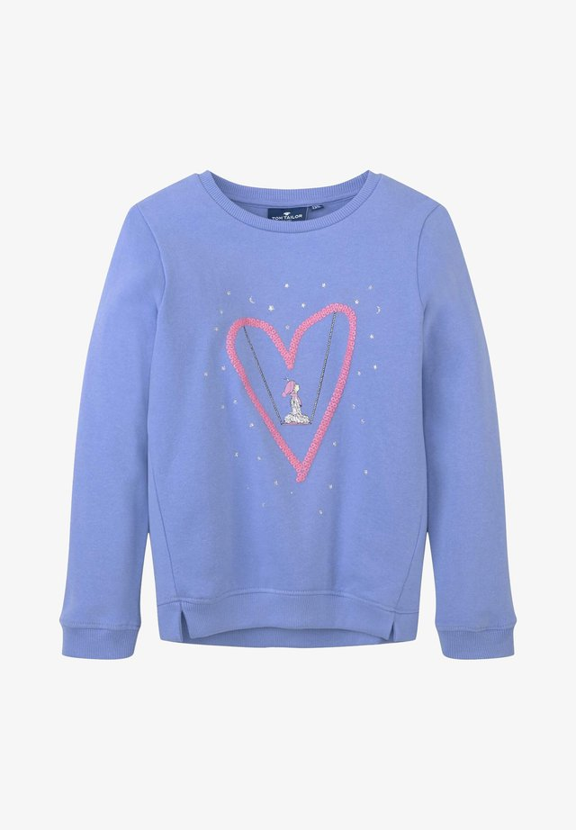 Sweatshirt - grapemist|blue