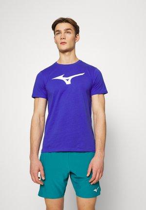 LOGO TEE - T-shirt print - vision violet
