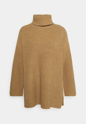 SLFKATTY LONG ROLLNECK - Jumper - tigers eye