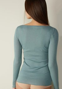 Intimissimi - Long sleeved top - acquamarina - 1